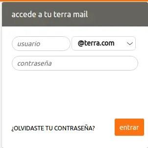 acceder a Terra Mail