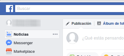 cuenta nueva de Facebook no bloqueada en Marketplace