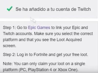 Cómo conseguir skins de Fortnite gratis con Twitch Prime