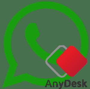 espiar whatsapp con anydesk