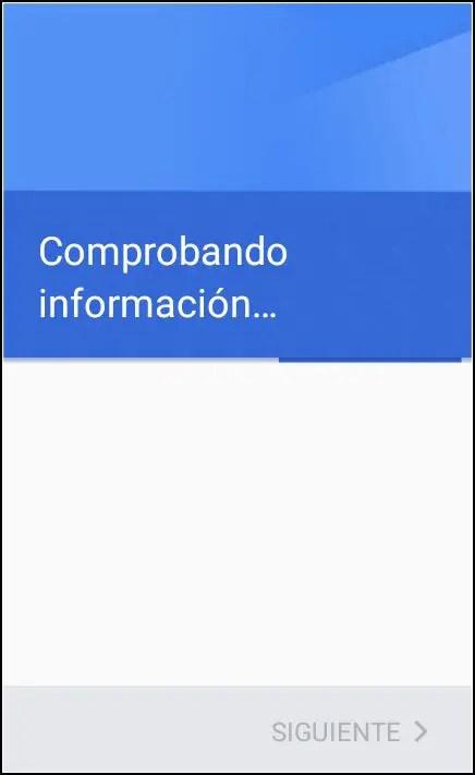 comprobando información Google