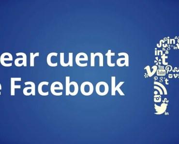 crear cuenta de facebook