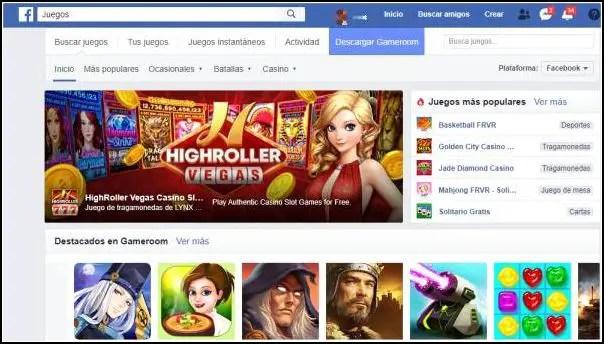 crear cuenta Facebook juegos