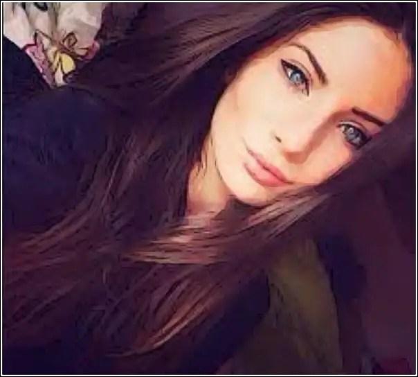 chica guapa Facebook