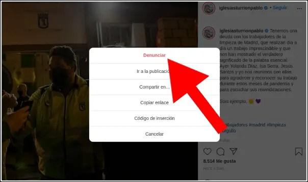 den unciar publicación instagram