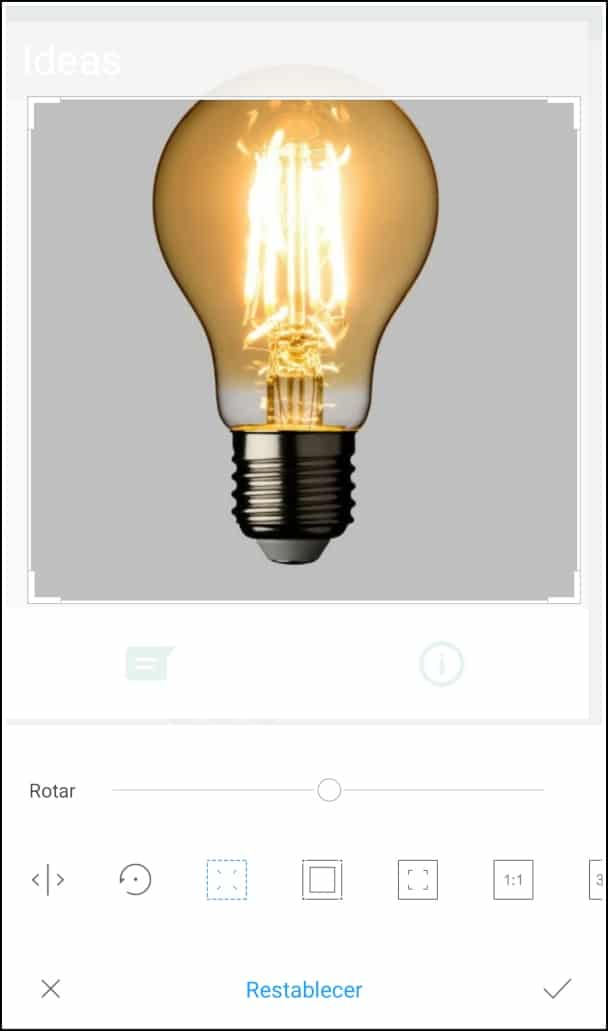 editar foto perfil WhatsApp descargada