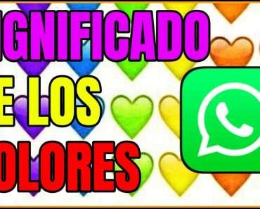 Qué significan los corazones de WhatsApp según sus colores