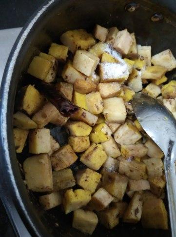 Yam Stir Fry