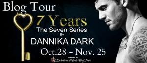 Blogtour, Review: Seven Years (Seven #1) - Dannika Dark