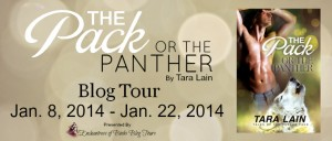 Giveaway, Blogtour Review: The Pack or the Panther - Tara Lain