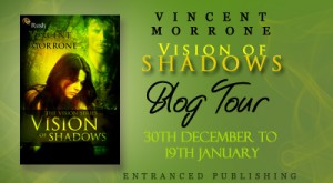 Blogtour, Giveaway and Review: Vision of Shadows (Vision #1) - Vincent Morrone