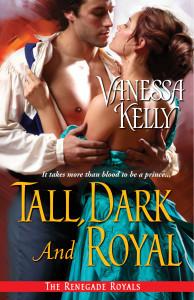 Review: Tall, Dark and Royal – Vanessa Kelly