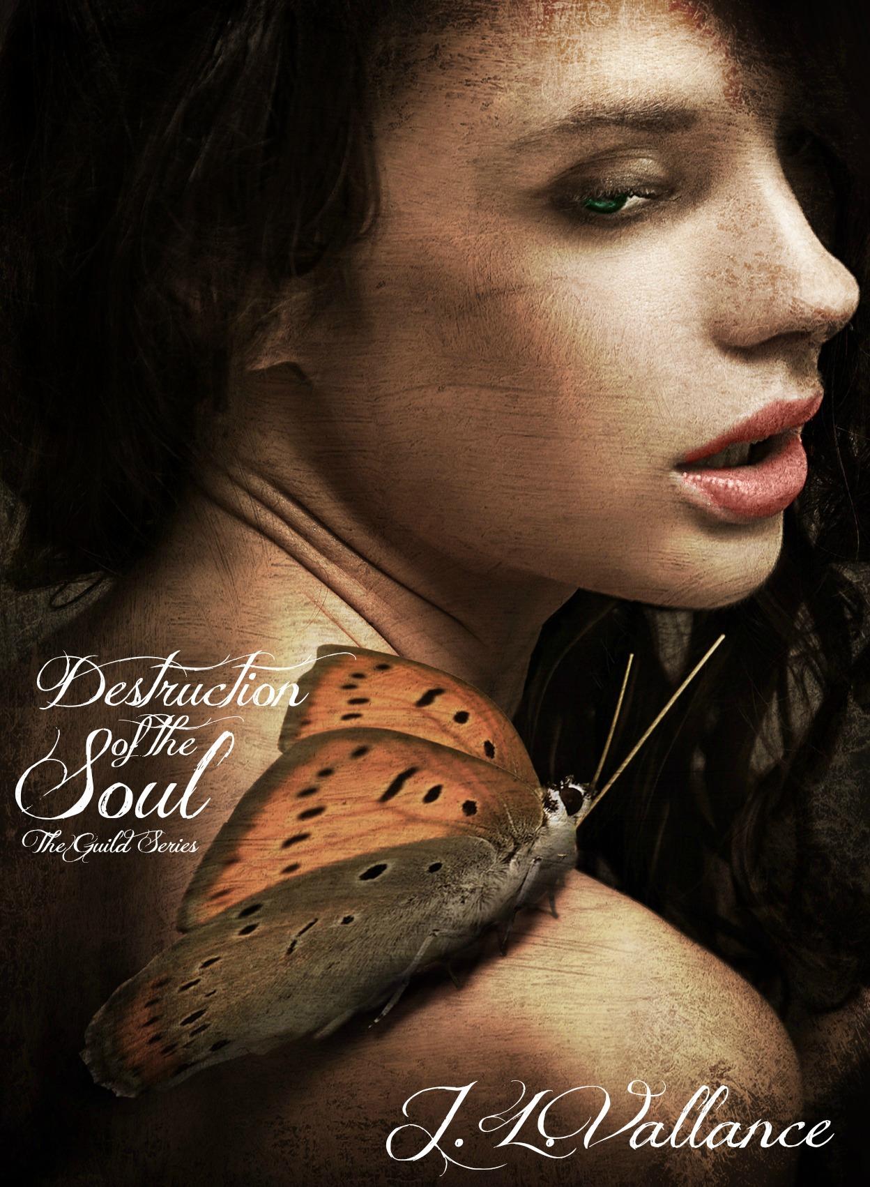 Cover Reveal: Destruction of the Soul  – J. L. Vallance