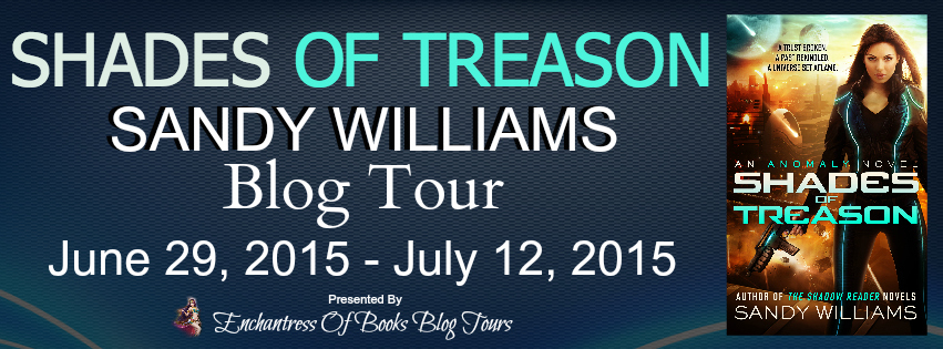 Blogtour Review: Shades of Treason - Sandy Williams