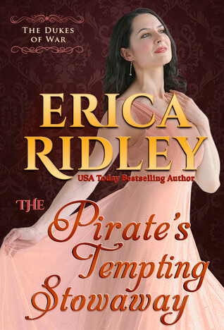 Review: The Pirate's Tempting Stowaway – Erica Ridley