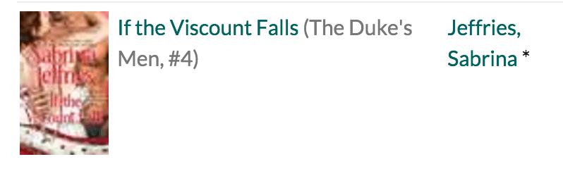 If the Viscount Falls
