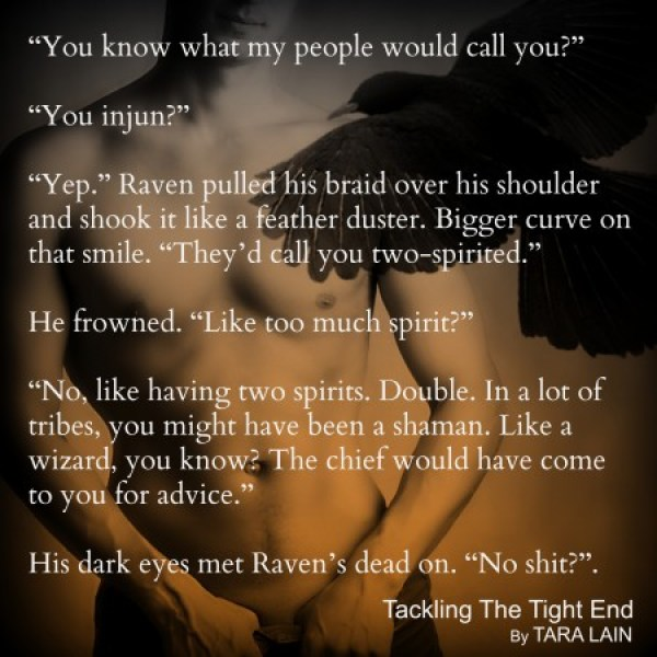 Teaser #2 - Tackling The Tight End by Tara Lain