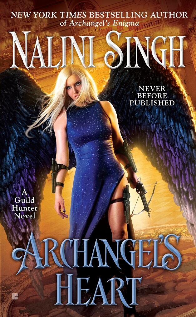 #Cover #Reveal Archangel's Heart – Nalini Singh