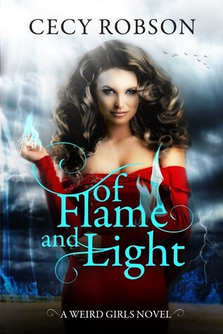 Blogtour : Of Flame and Light – Cecy Robson