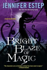 Bright Blaze of Magic cover - (un)Conventional Bookviews - Weekend Wrap-up