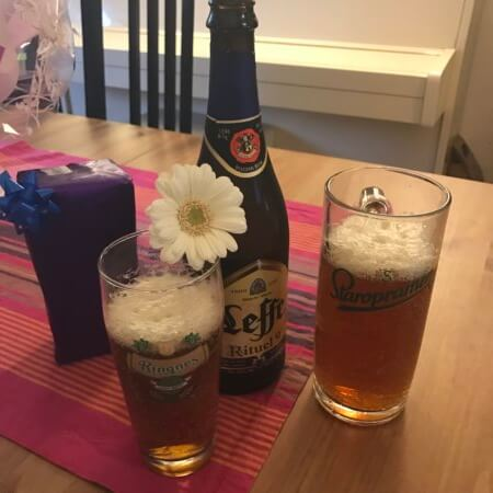 Birthday drinks and flowers - (un)Conventional Bookviews - Weekend Wrap-up