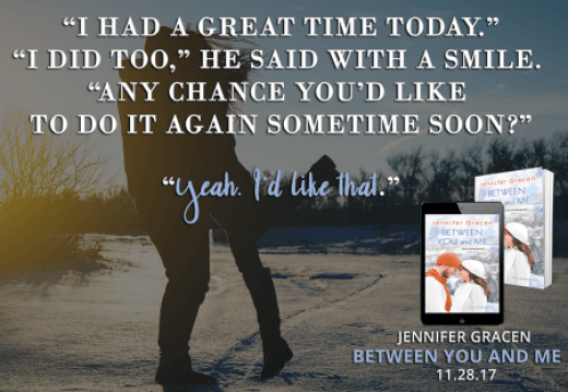 Between You and Me teaser - (un)Conventional Bookviews