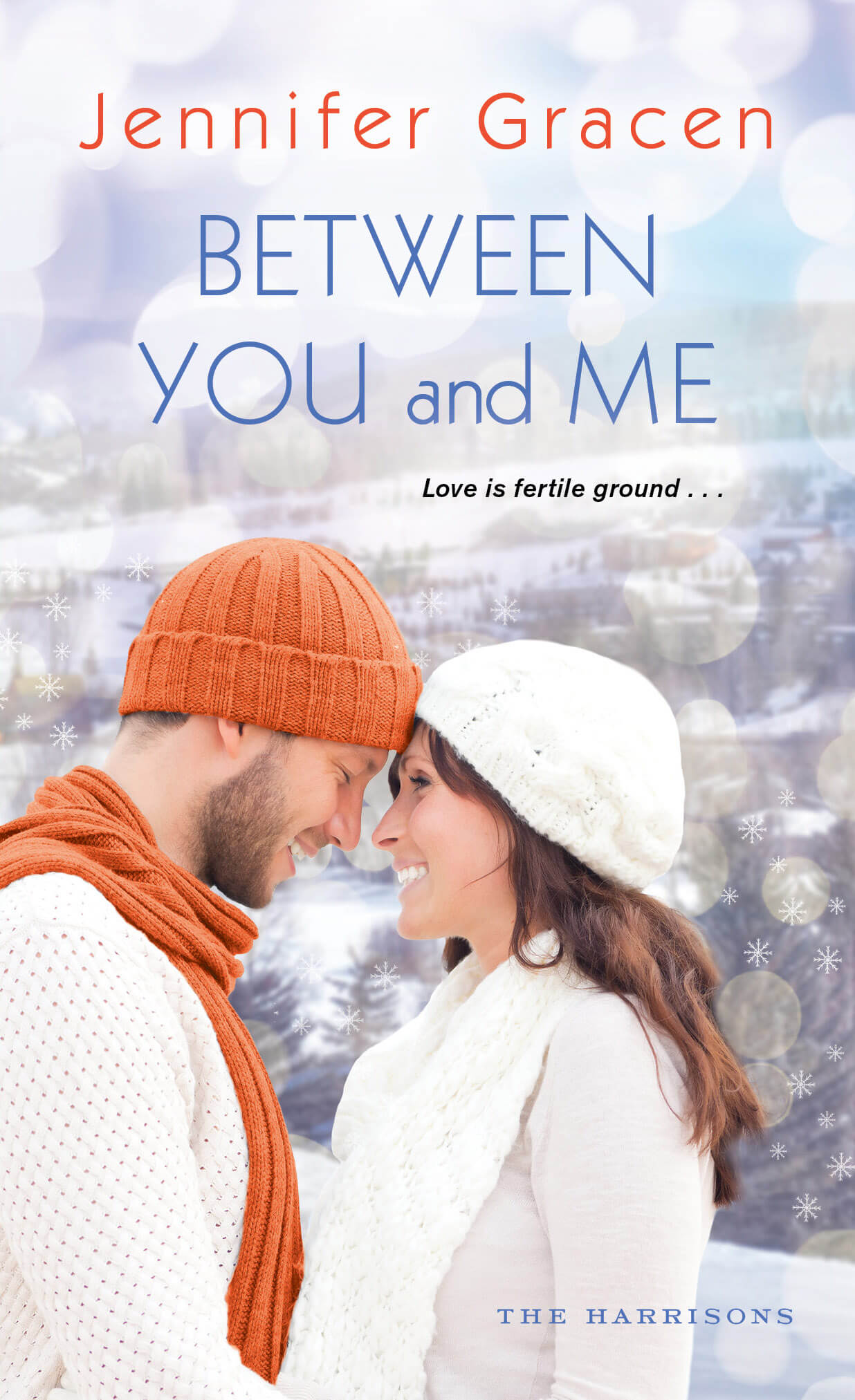 #ReleaseDay Celebration: Between You And Me – Jennifer Gracen