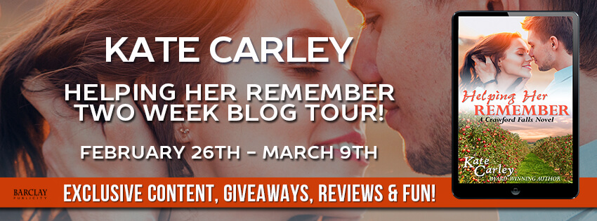 Blogtour Review: Helping Her Remember - Kate Carley