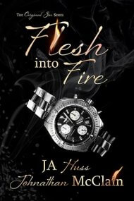 Flesh Into Fire cover - (un)Conventional Bookviews - Weekend Wrap-up