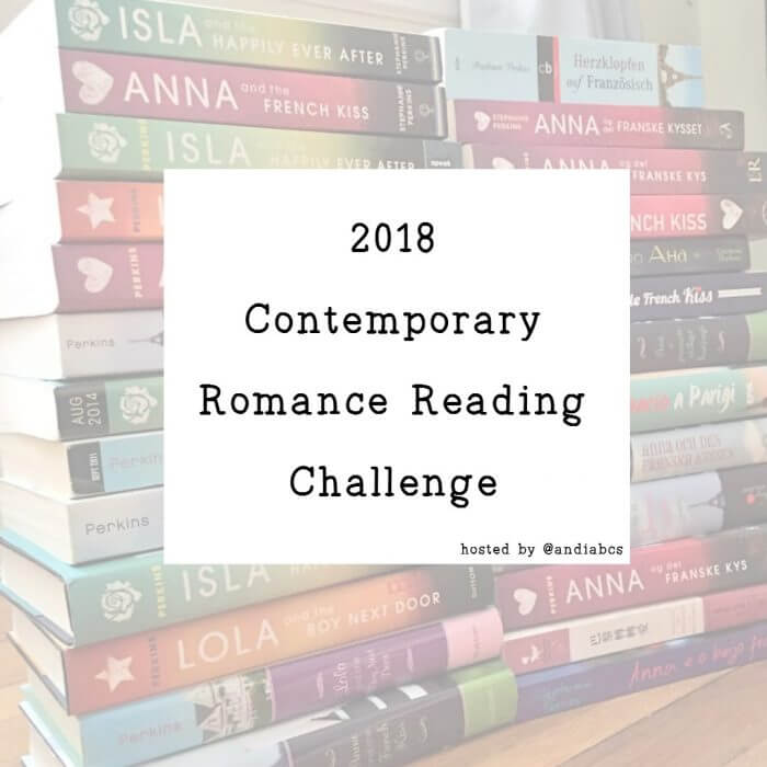2018 Contemporary Romance Reading Challenge