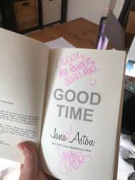 Good Time inside cover - (un)Conventional Bookworms - Weekend Wrap-up