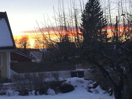Norwegian sunset - (un)Conventional Bookworms - Weekend Wrap-up