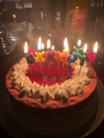 Lexxie's birthday cake - (un)Conventional Bookworms - Weekend Wrap-up