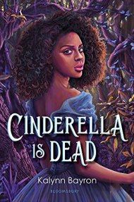 Cinderella is Dead cover - (un)Conventional Bookworms - Weekend Wrap-up. In the center of the cover, there's a dark-haired girl with a blue fancy dress. The Background is in bluish colors as well, but a lit darker than the girl's dress. She looks a little unsure of herself, and that made me curious to read her story.