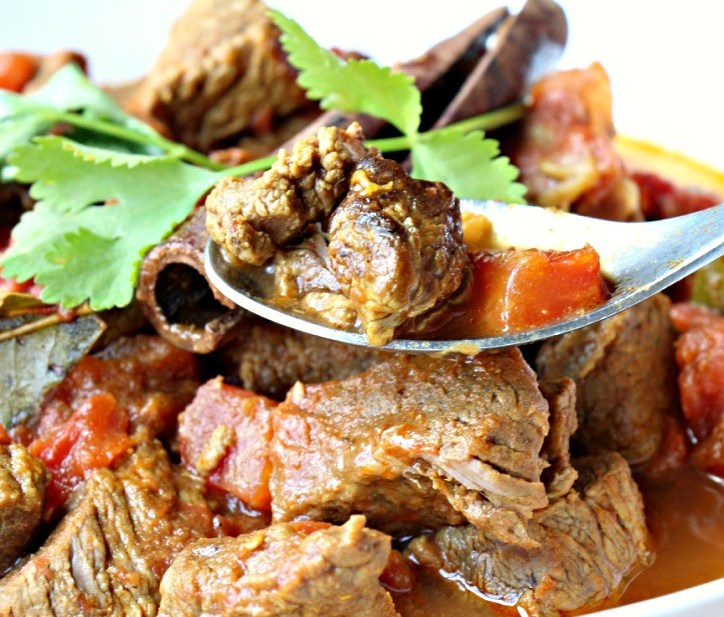 Spiced Beef Curry (GF, Oil-Free)