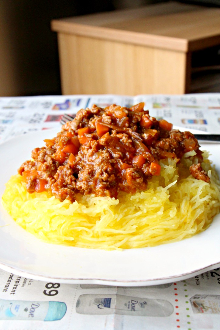 "Family Recipe: My Grandmother's Chinese ""Spaghetti"" Bolognese (GF, Paleo, DF)"