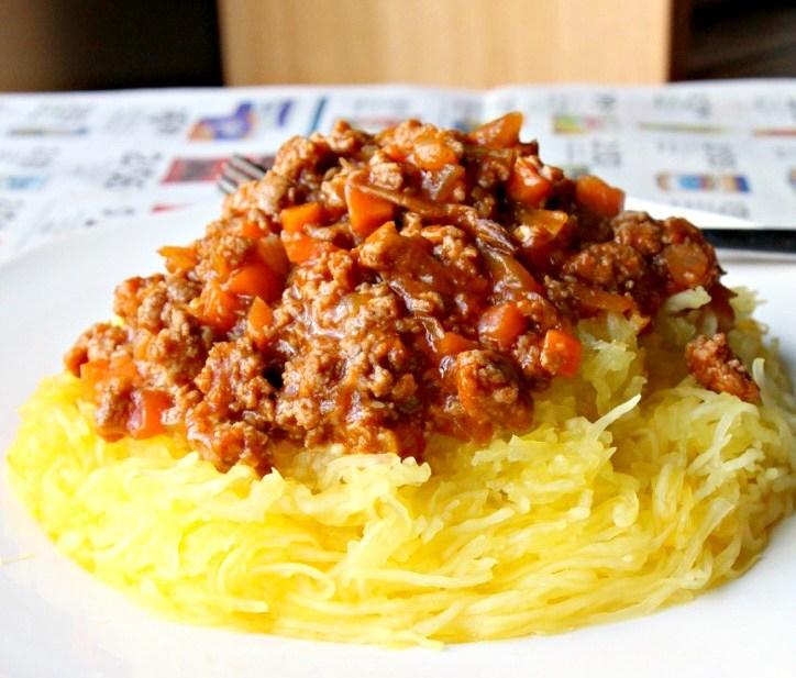 "Family Recipe: My Grandmother's Chinese ""Spaghetti"" Bolognese (GF, Paleo, DF)"