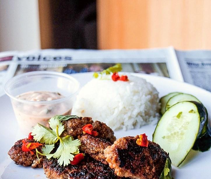 Thai Koftas and Vegan Red Curry Tzatziki (Paleo, GF, Oil-Free, Nut Free)