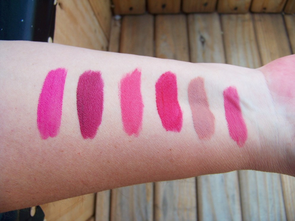 Swatches are in the same order