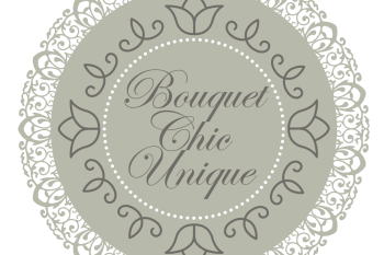 Bouquet chic unique logo