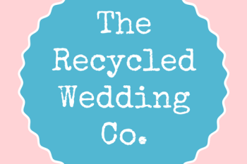 The recycled wedding company logo