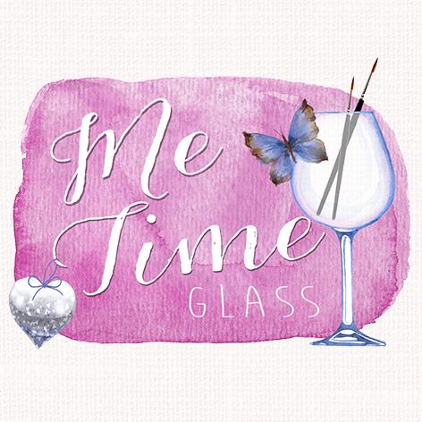 Me Time Glass Logo