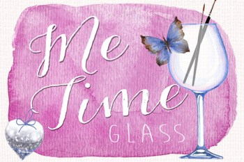 Me Time Glass Logo