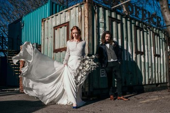 The Urban wedding company 9 - industrial - alternative - unconventional wedding