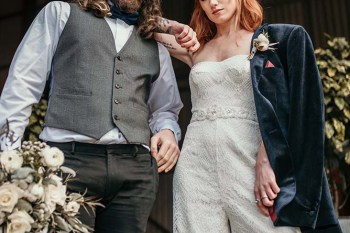 The Urban wedding company 1 - bride and groom - industrial - alternative - unconventional