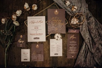 The Urban wedding company 6 - stationery - industrial - alternative - unconventinal