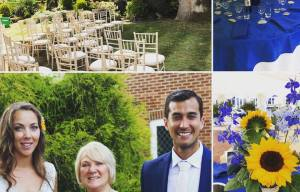Yvonne beck celebrant - Caroline's Wedding