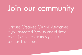 Join our community - Unconventional wedding