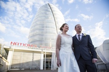 National Space Centre 1 - Rocket tower - alternative weddings - unconventional
