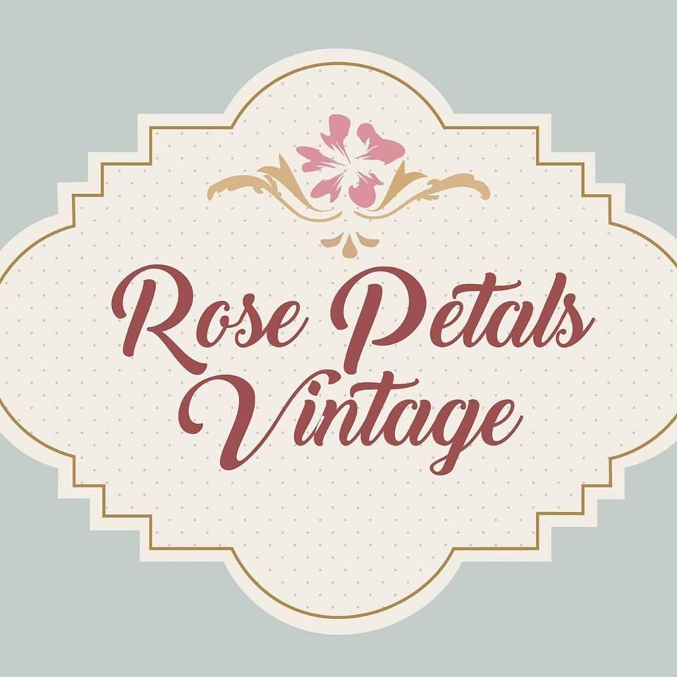 Rose Petals Vintage Logo